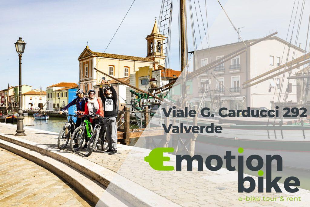 Emotion Bike sbarca a Cesenatico