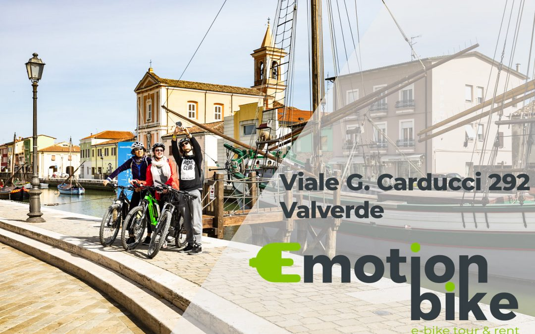 Emotion Bike sbarca a Cesenatico