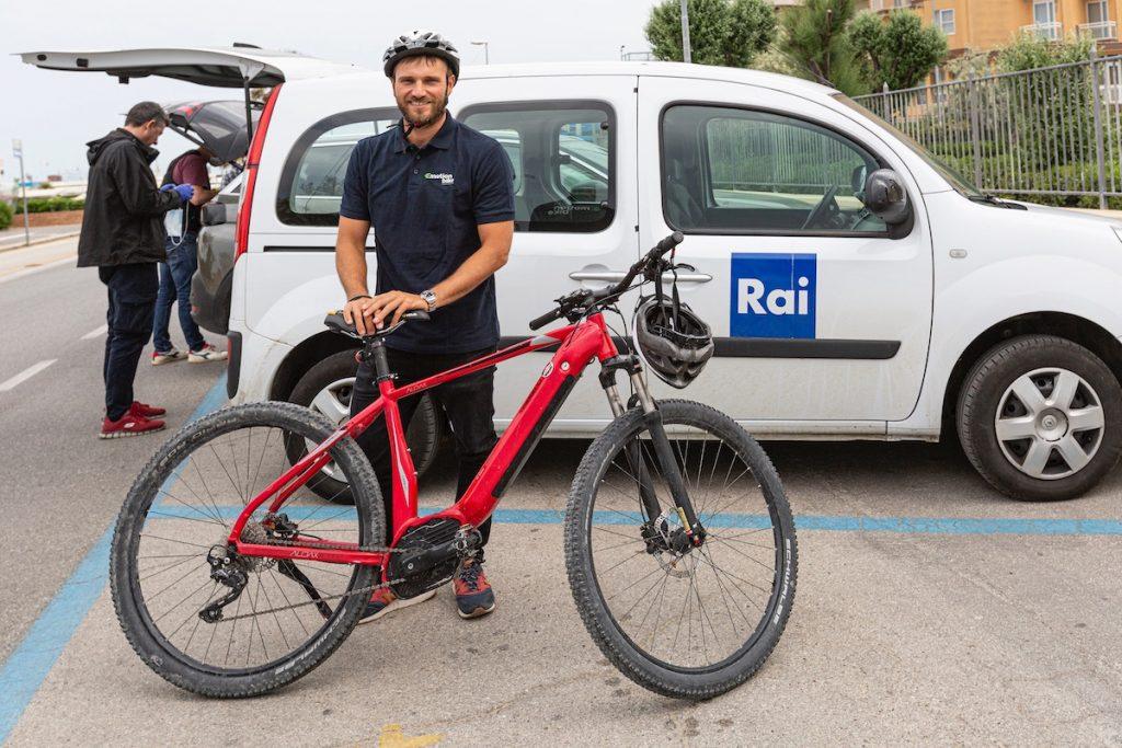 Emotion Bike su Rai news 24 - Eugenio