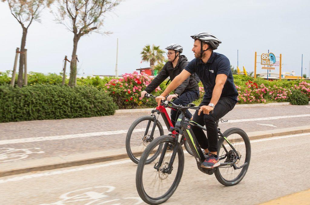 Emotion bike su rai news 24 - Eugenio Giovanardi e Alfredo Di Giovanpaolo