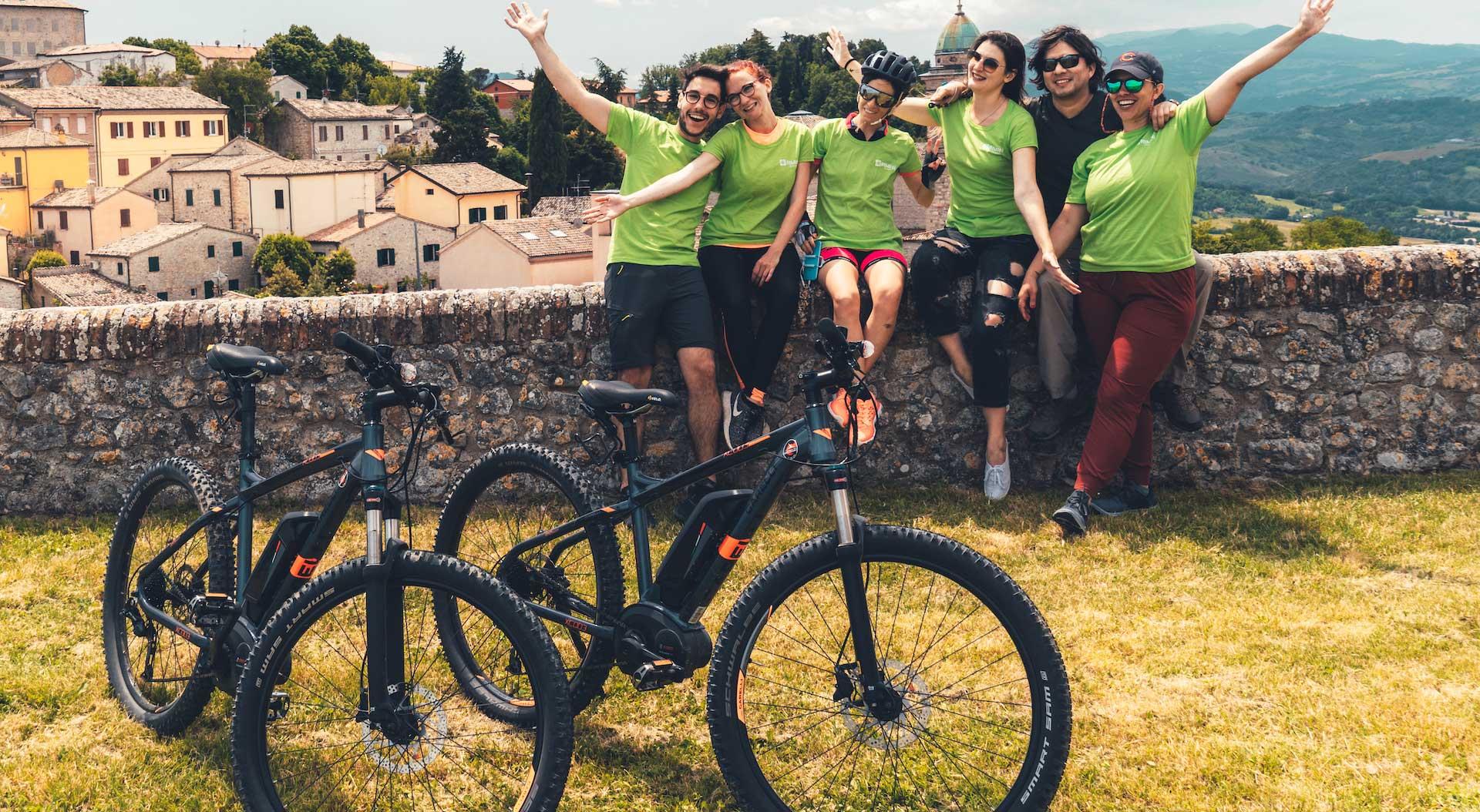 Verucchio – Pennabilli: un viaggio in e-Bike sulla strada del tartufo bianco