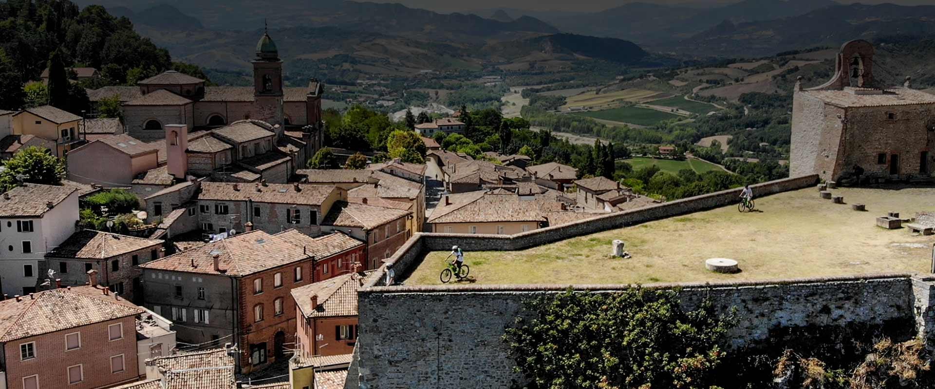 Valmarecchia e Verucchio e-Bike Tour: da 0 a 300 in mezza giornata