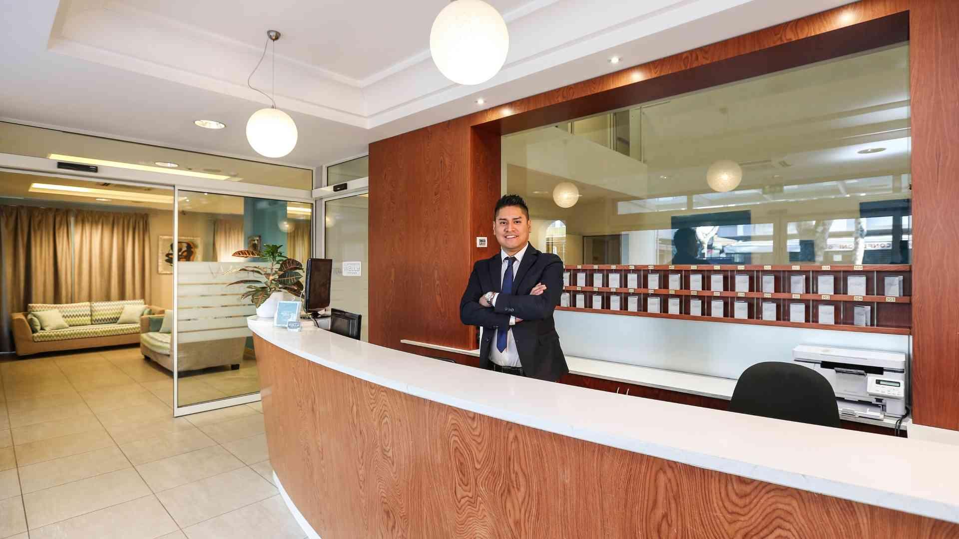 Reception_Wally Hotel