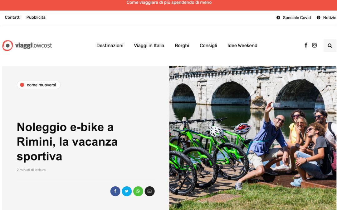 Viaggi low cost parla di Emotion Bike