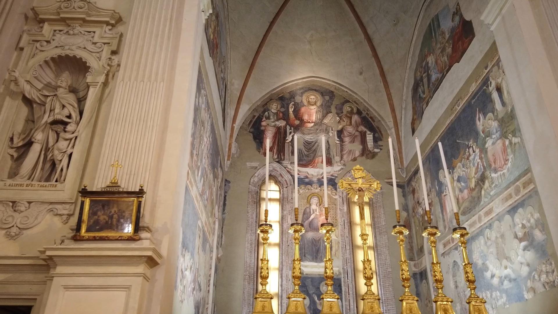 Luoghi d'incanto – La pittura del trecento a Rimini nella Chiesa di Sant'Agostino